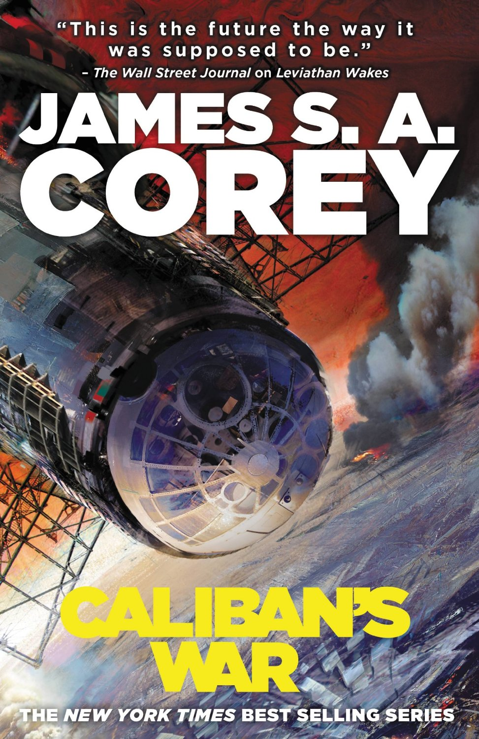 Caliban's War cover art