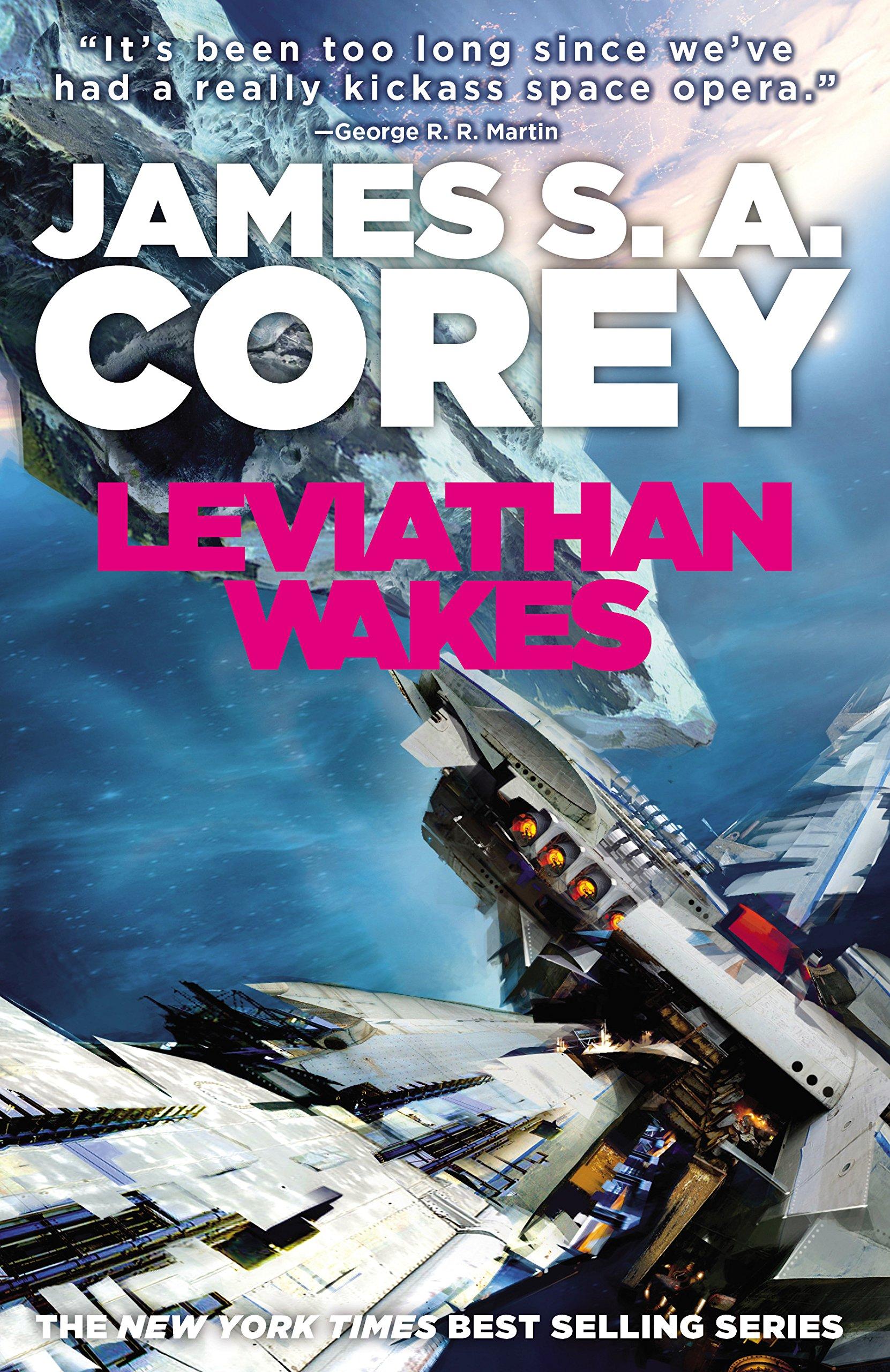 Book Review: Leviathan Wakes (Expanse #1), by James S. A. Corey
