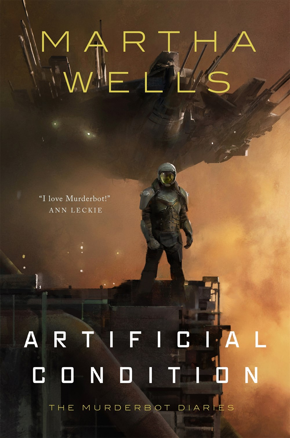 Book Review: Artificial Condition (Murderbot Diaries #2), by Martha Wells