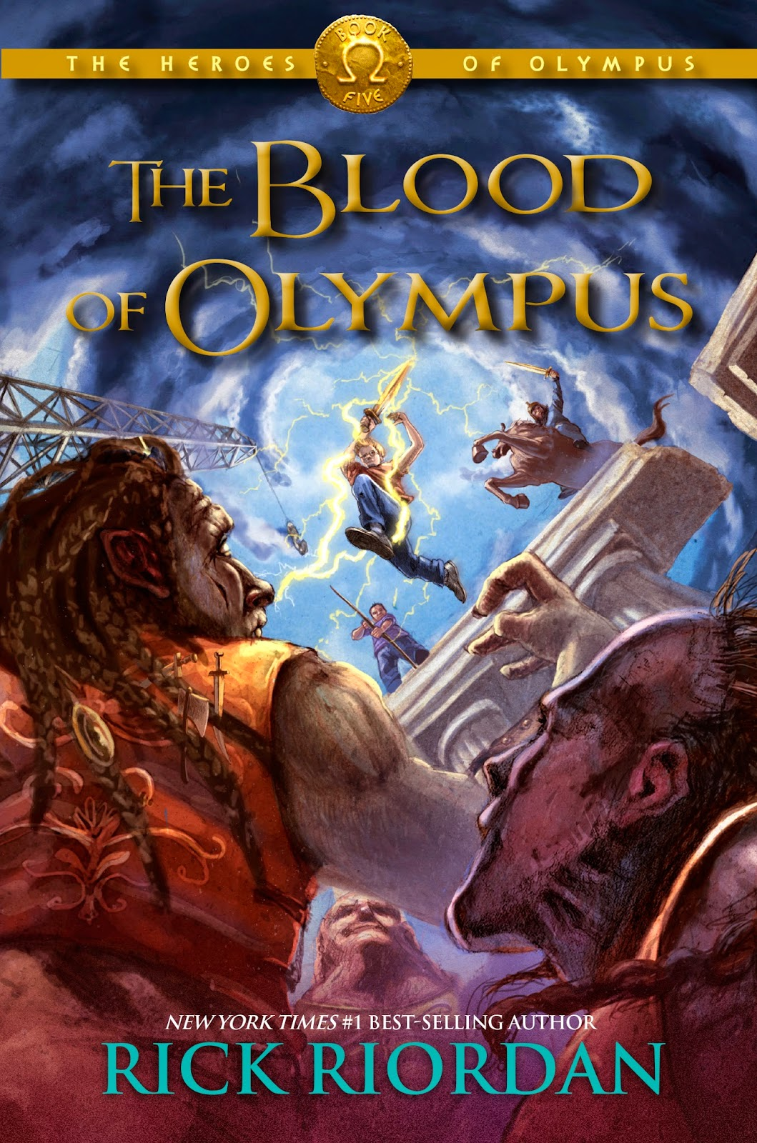 Book Review: The Blood of Olympus, by Rick Riordan